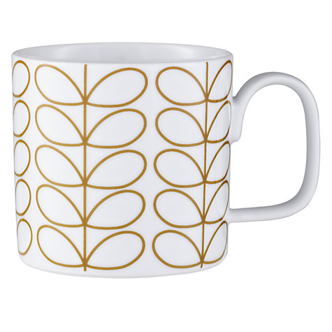 Buy Orla Kiely Linear Stem Mug Online at johnlewis.com