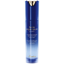 Buy Guerlain Super Aqua Serum Light Online at johnlewis.com