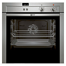 Buy Neff B44S42N3GB Single Electric Oven, Stainless Steel Online at johnlewis.com