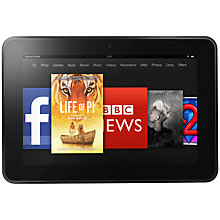 "Buy Amazon Kindle Fire HD 8.9"" Tablet, TI OMAP, 8.9"", 32GB, Black Online at johnlewis.com"