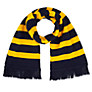 Buy School Unisex Scarf, Navy/Amber Online at johnlewis.com
