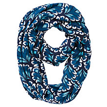 Buy John Lewis Geo Tile Print Snood, Blue Online at johnlewis.com