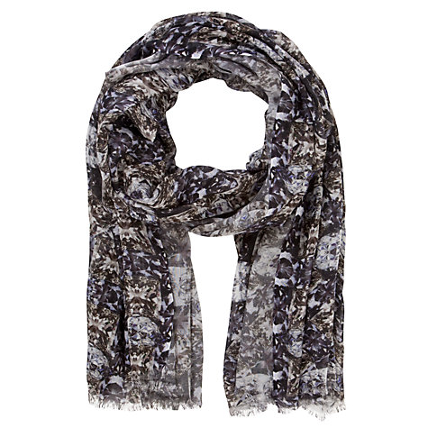 Buy John Lewis Jewel Oblong Print Scarf, Multi Online at johnlewis.com