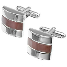 Buy Simon Carter Catseye Slice Cufflinks Online at johnlewis.com