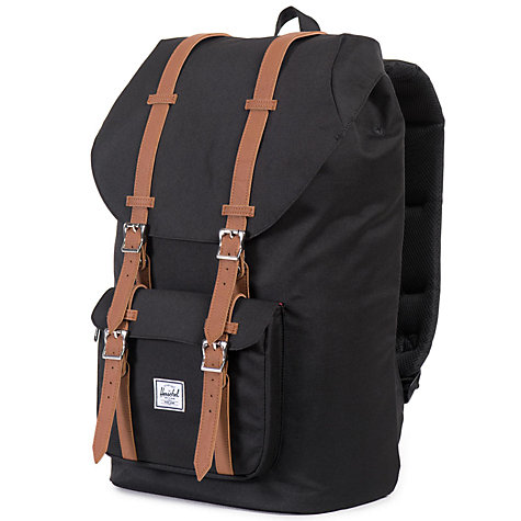 Buy Herschel Supply Co. Little America Backpack, Black Online at johnlewis.com
