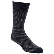Buy JOHN LEWIS & Co. Birdseye Wool and Silk Socks, One Size Online at johnlewis.com