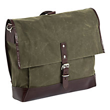 "Buy Property Of... Alfred 15"" Laptop Waxed Cotton Backpack Online at johnlewis.com"