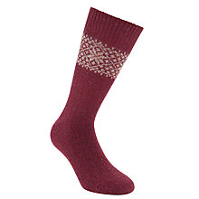 Buy JOHN LEWIS & Co. Fair Isle Socks Online at johnlewis.com