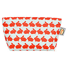 Buy Anorak Kissing Rabbits Small Cosmetic Bag Online at johnlewis.com