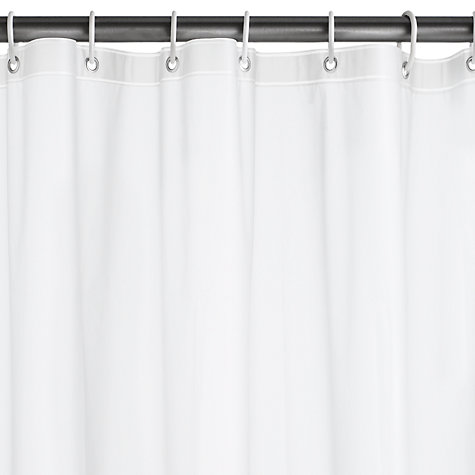 Buy John Lewis PEVA Shower Curtain / Liner Online at johnlewis.com
