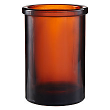 Buy John Lewis Amber Glass Tumbler Online at johnlewis.com