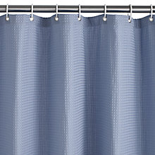 Buy John Lewis Large Waffle Shower Curtain Online at johnlewis.com