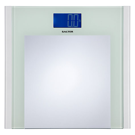 Buy Salter Reverse Digital Bathroom Scale, Glass Online at johnlewis.com