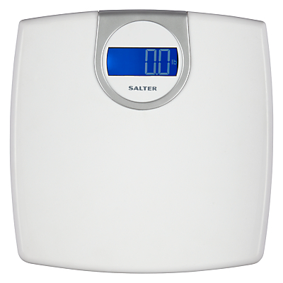 Salter Electronic Digital Bathroom Scale, White