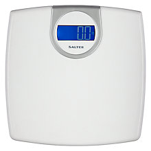 Buy Salter Electronic Digital Scale, White Online at johnlewis.com