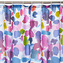 Buy bluebellgray Abstract Shower Curtain Online at johnlewis.com