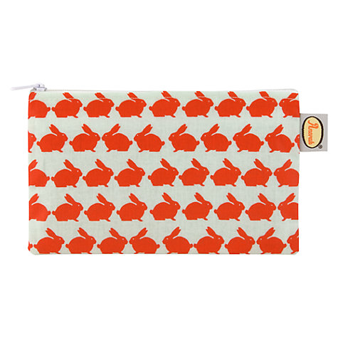 Buy Anorak Kissing Rabbits Flat Purse Online at johnlewis.com