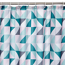 Buy John Lewis Mosaic Shower Curtain Online at johnlewis.com