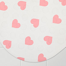 Buy John Lewis Hearts Rubber In-Bath Mat Online at johnlewis.com