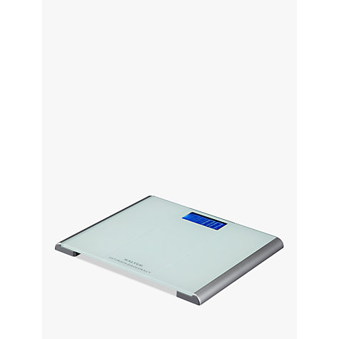 Buy Salter Ultimate Accuracy Digital Bathroom Scale, Glass Online at johnlewis.com