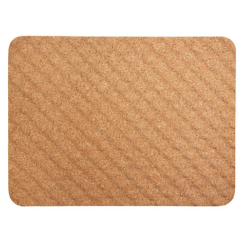 Buy John Lewis Wave Cork Bath Mat Online at johnlewis.com