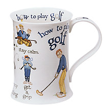 Buy Dunoon How to Golf Mug Online at johnlewis.com