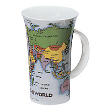 Buy Dunoon World Map Mug Online at johnlewis.com