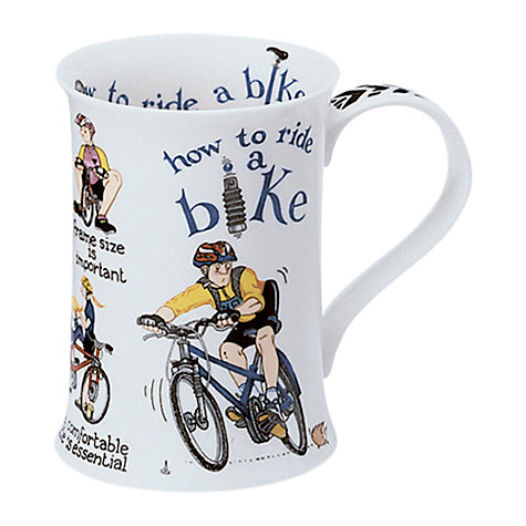 Buy Dunoon How to Bike Mug Online at johnlewis.com