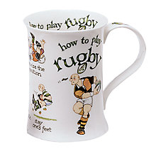 Buy Dunoon How to Play Rugby Mug Online at johnlewis.com