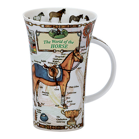 Buy Dunoon World of the Horse Mug Online at johnlewis.com