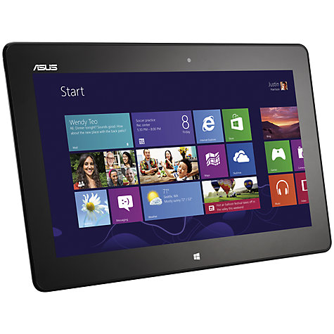 "Buy Asus VivoTab Smart ME400C Tablet, Intel Atom, Windows 8, 10.1"", Wi-Fi, 64GB, Black Online at johnlewis.com"