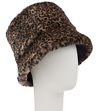 Buy John Lewis Faux Fur Reverse Hat Online at johnlewis.com