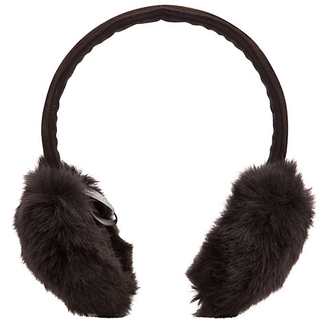Buy John Lewis Faux Fur Earmuffs Online at johnlewis.com