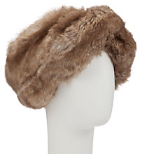 Buy John Lewis Large Faux Fur Headband Online at johnlewis.com