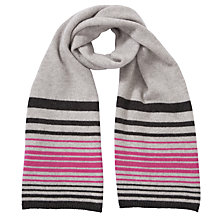 Buy John Lewis Cashmere Stripe Scarf Online at johnlewis.com