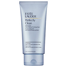 Buy Estée Lauder Perfectly Clean Multi-Action Foam Cleanser/Purifying Mask, 150ml Online at johnlewis.com