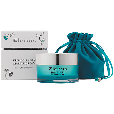 Buy Elemis Pro-Collagen Limited Edition Marine Cream, 100ml Online at johnlewis.com