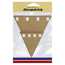 Buy Decopatch Flag Bunting, Pack of 10 Online at johnlewis.com