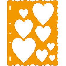 Buy Fiskars ShapeCutter Template, Hearts Online at johnlewis.com