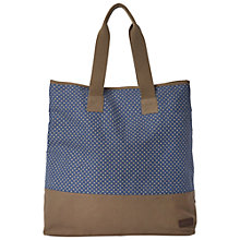 Buy White Stuff Rhoda Spotted Shopper Handbag, Blue Online at johnlewis.com