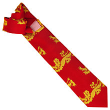 Buy Thomas Pink The Golden Lion Large Tie Online at johnlewis.com