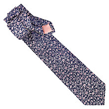 Buy Thomas Pink Davenport Flower Print Tie Online at johnlewis.com