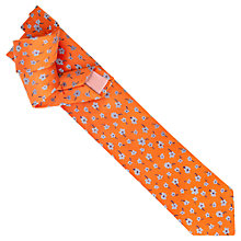 Buy Thomas Pink Mirage Flower Print Tie Online at johnlewis.com