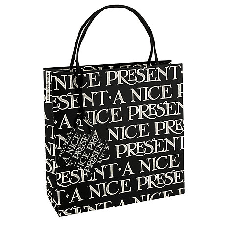 Buy Emma Bridgewater Nice Present Gift Bag, Medium Online at johnlewis.com