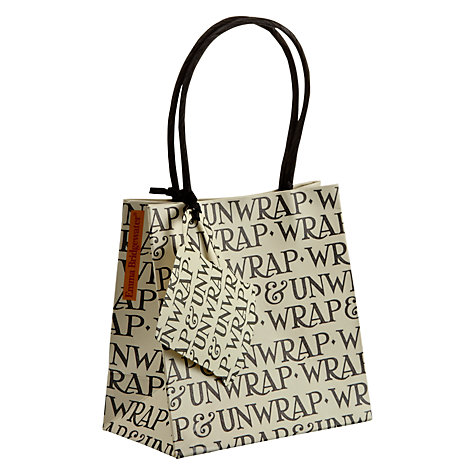 Buy Emma Bridgewater Nice Present Gift Bag, Small Online at johnlewis.com