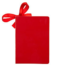 Buy John Lewis Glossy Gift Tag, Red Online at johnlewis.com