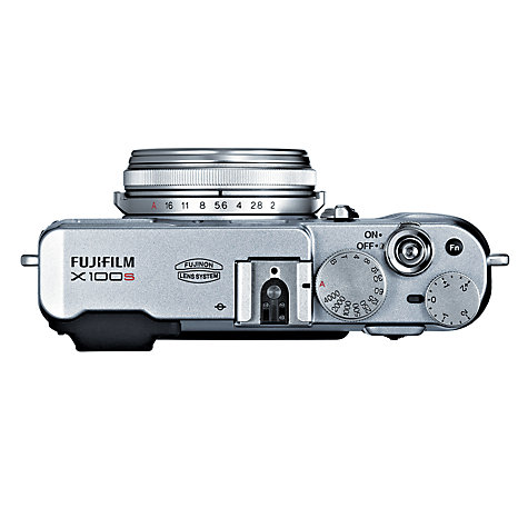 "Buy Fujifilm X100S Digital Camera, HD 1080p, 16.3MP, Dual Viewfinder, 2.8"" LCD Screen Online at johnlewis.com"