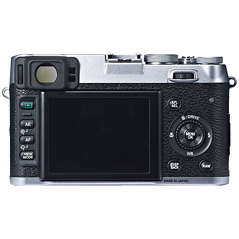 Buy Fujifilm X100S Digital Camera, HD 1080p, 16.3MP, Dual Viewfinder, 2.8 LCD Screen Online at johnlewis.com