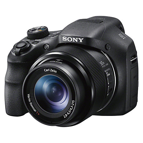 "Buy Sony Cyber-shot DSC HX300 Bridge Camera, HD 1080p, 20.4MP, 50x Optical Zoom, 3"" LCD Screen with 8GB Memory Card Online at johnlewis.com"