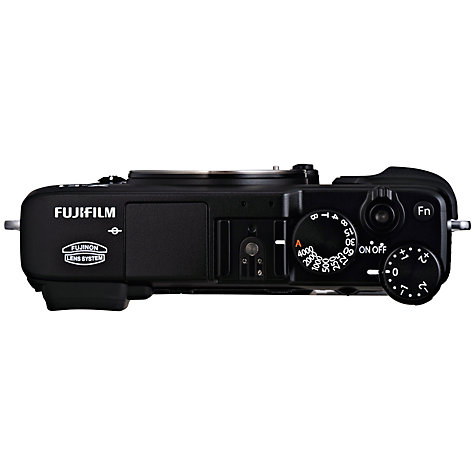 "Buy Fujifilm X-E1 Compact System Camera, HD 1080p, 16.3MP, EVF, 2.8"" LCD Screen, Body Only Online at johnlewis.com"